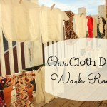 Our Cloth Diaper Wash Routine