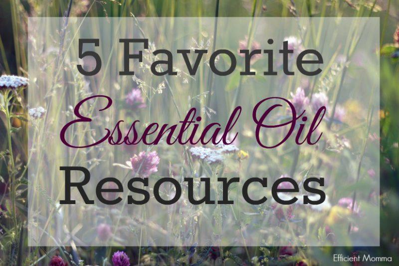 5 Favorite Essential Oil Resources