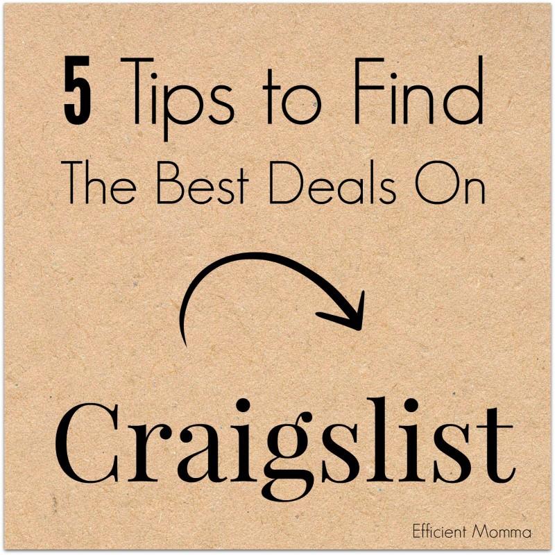 Best deals ever found on craigslist
