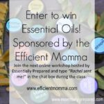 Free Essential Oil Webinar and Giveaway