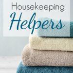 5 Favorite Housekeeping Helpers