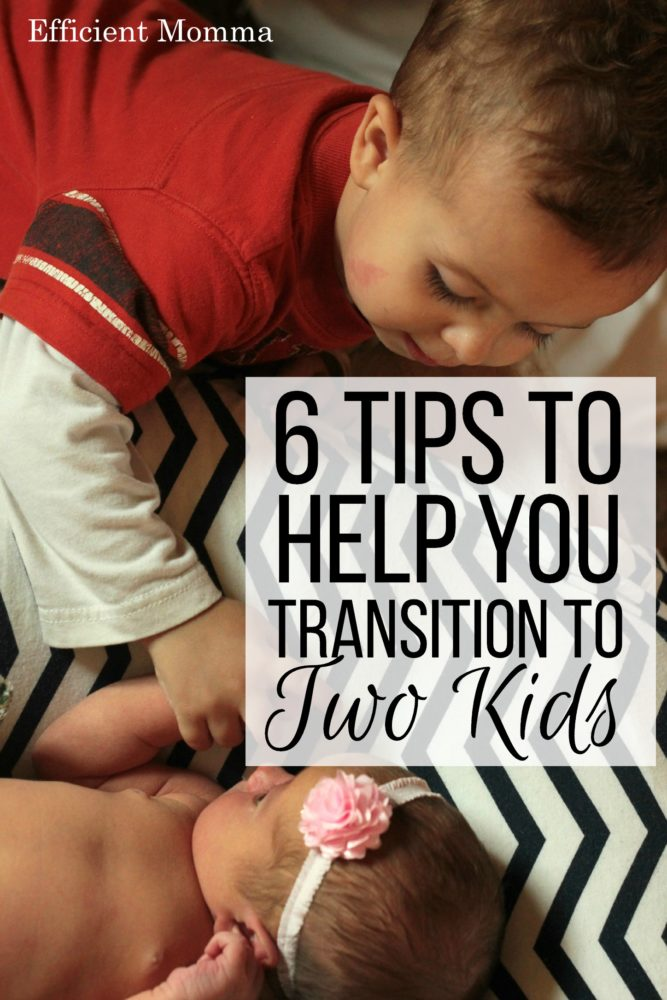 6 Tips to Help You Transition to Two Kids