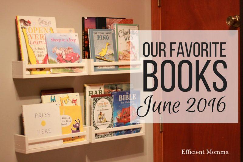 Our Favorite Books June 2016