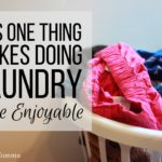 This One Thing Makes Doing Laundry More Enjoyable